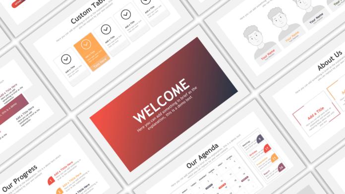 Cool Google Slides Business Presentation