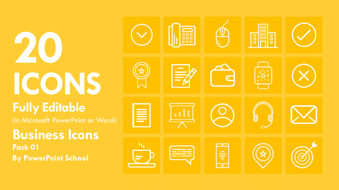 Free Business Icons Pack 01